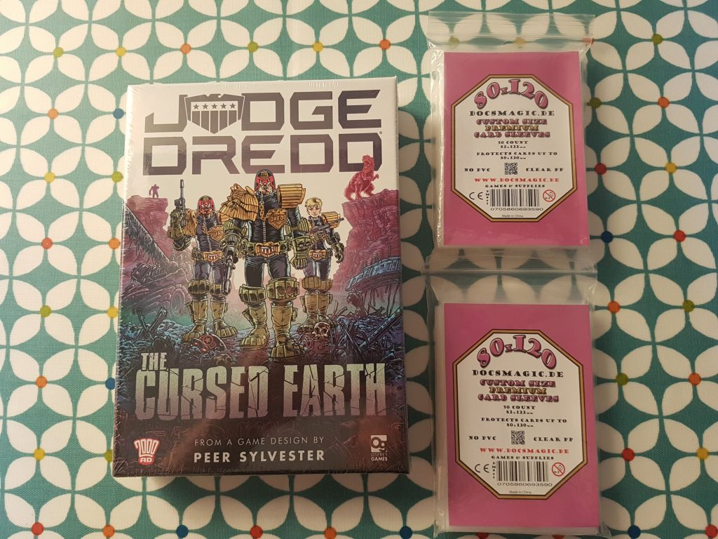 Judge Dredd: The Cursed Earth sleeves