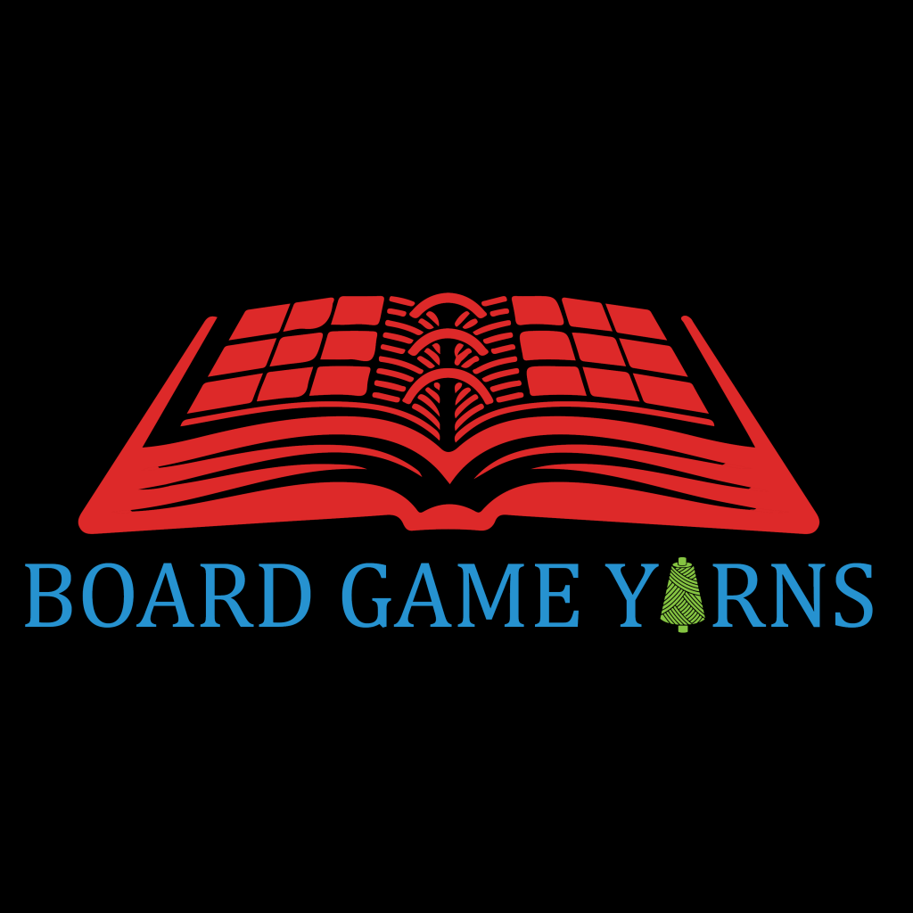 Board Game Yarns book logo